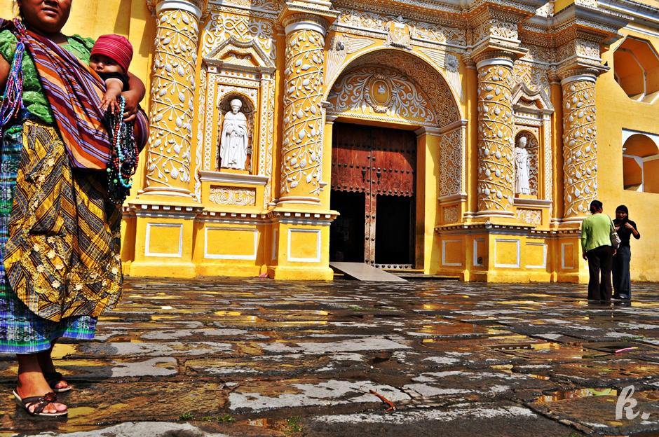 Zabytkowy kościół w Antiqui - zdjęcia z Gwatemali