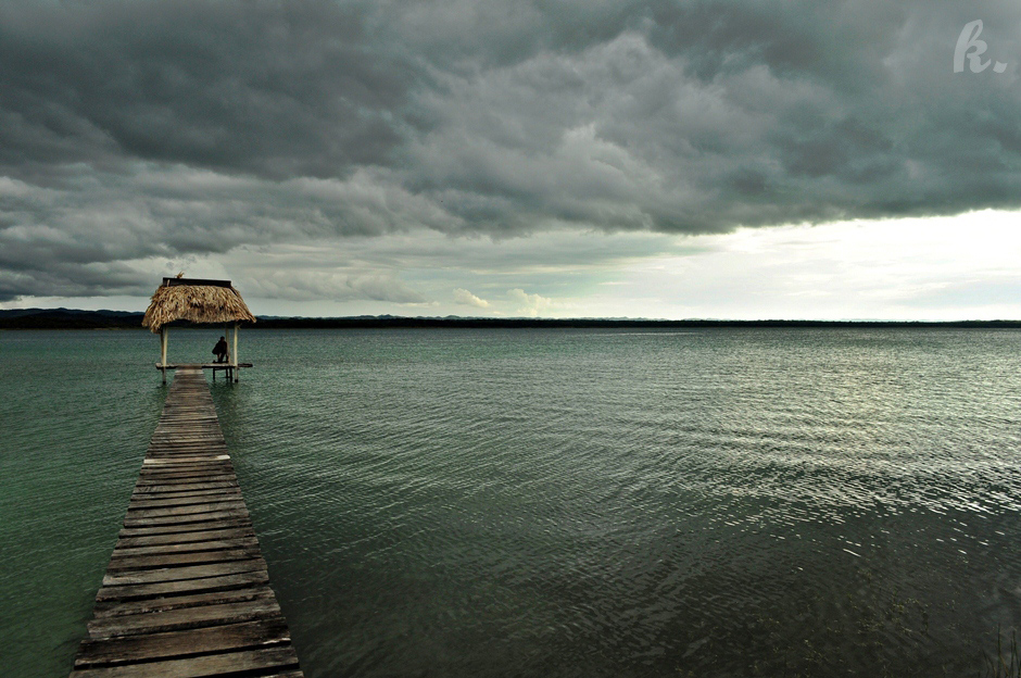 Wczasy nad jeziorem w Ameryce Srodkowej