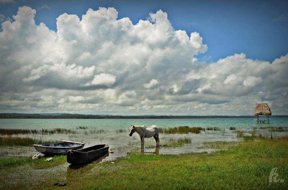 Konna wyprawa nad jezioro - foto relacja z podróży do Gwatemali
