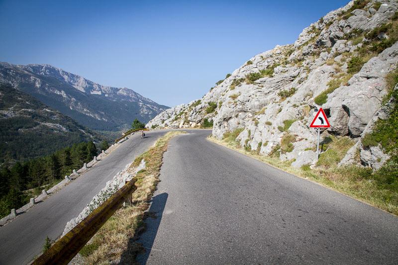 Rowerem przez góry Czarnogóry