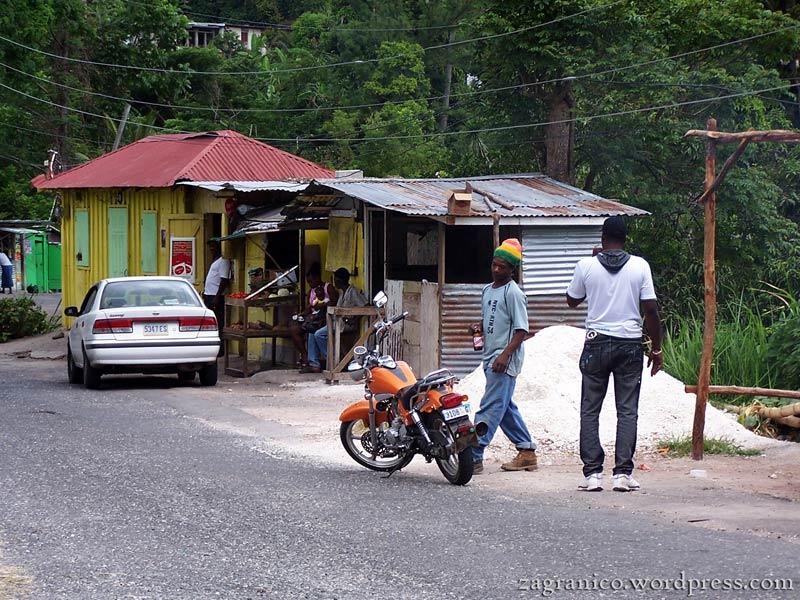 Człowiek z pistoletami na Jamajce