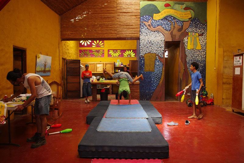 Nikaragua - szkoła cyrkowa w Granadzie