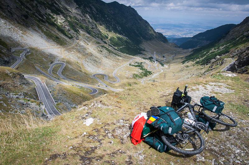 Przez Rumuńskie góry rowerem