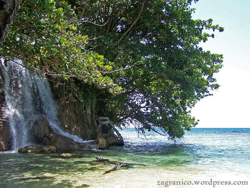 Plaża na Jamajce - zdjęcia z podróży