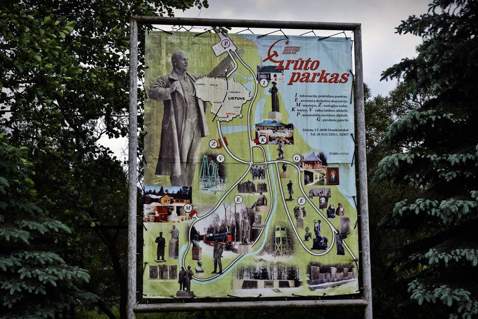 Park komunizmu na Litwie - zdjęcia