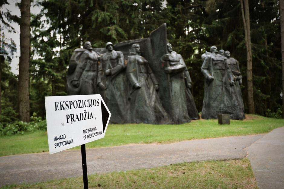 Turystyczne atrakcje Litwy - zdjęcia z parku Grutas