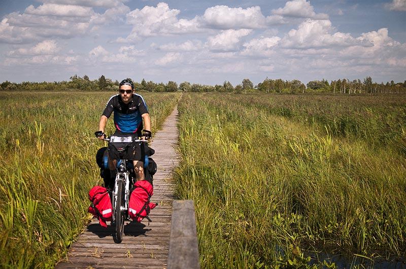 Rowerowy podróżnik Łukasz Kraka-Ćwikliński