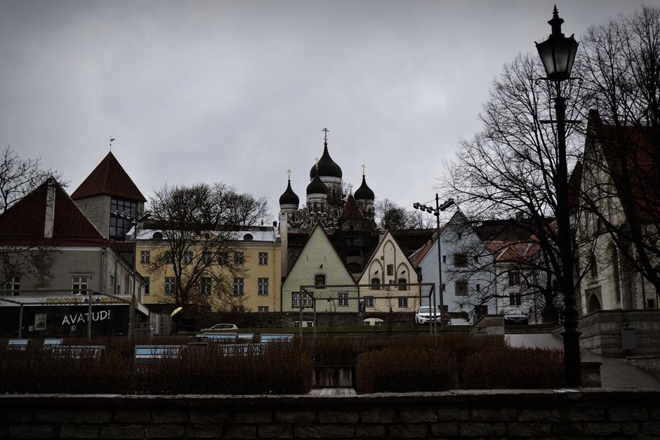 Tallin - pomnik radziecki