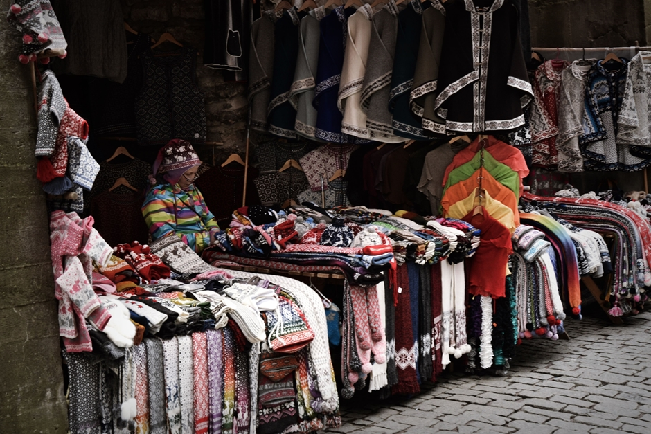 Biznes w Tallinie - ubrania z wełny