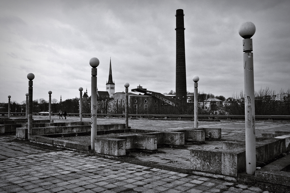 Tallinn - widok na Stare Miasto