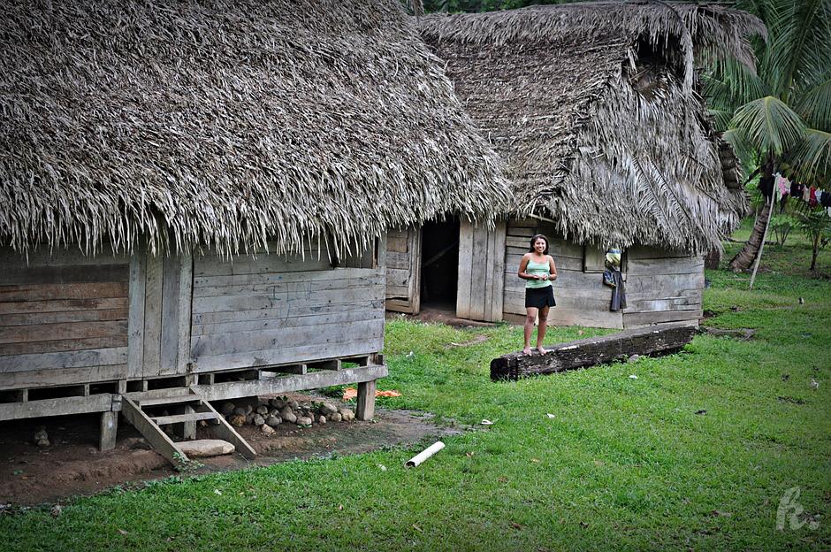 Tradycyjne domy - zdjęcia z Belize