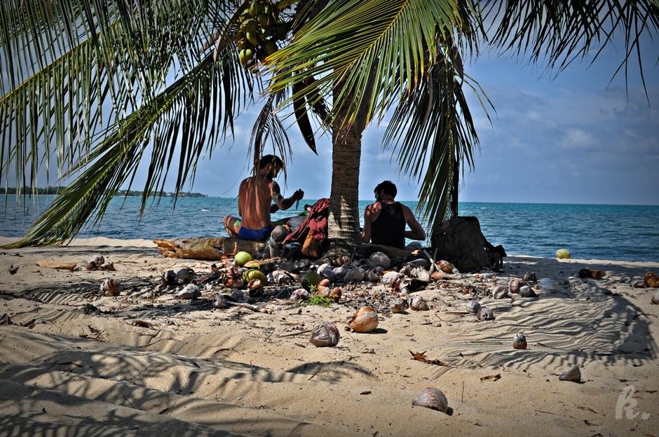 Relaks na plaży w Belize