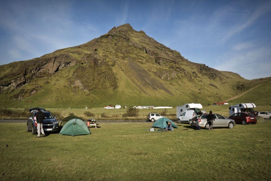 Camping na Islandii - ceny należą tu do najtańszych