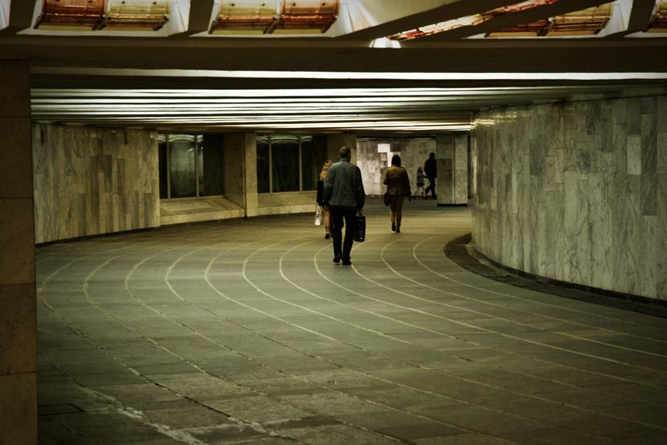 Zdjęcia metra w Mińsku