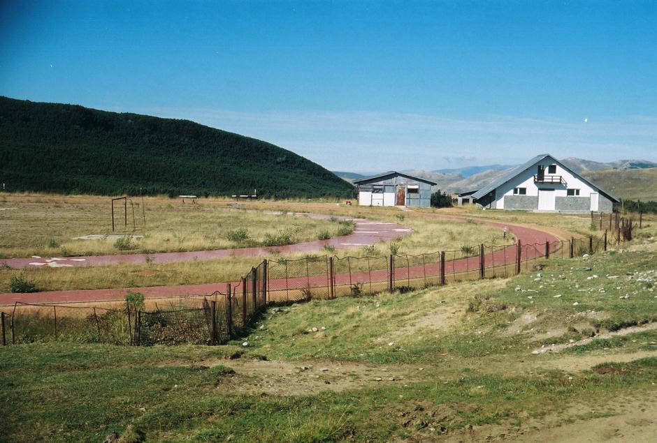 Ośrodek sportowy w górach Bucegi - foto