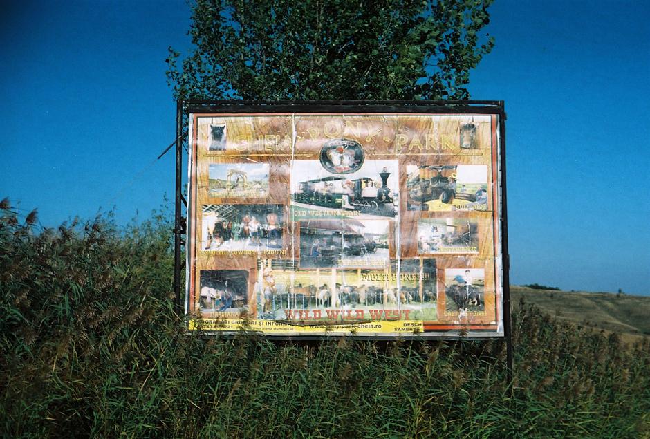 Dziki zachód niedaleko wąwozu Turda - foto z Rumunii