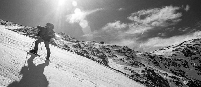 Zima w górach, czyli Europa prawie bezludna