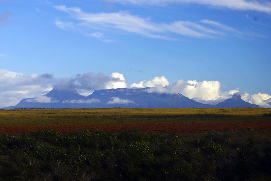 Kolory Wenezueli - góry