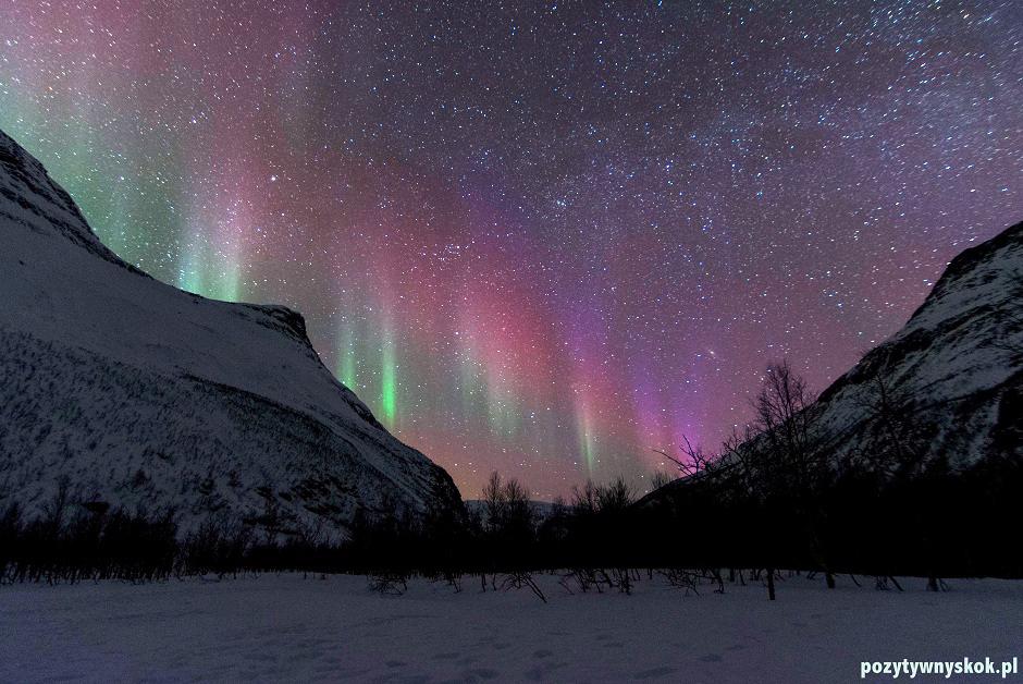 Zorza polarna - foto z Norwegii