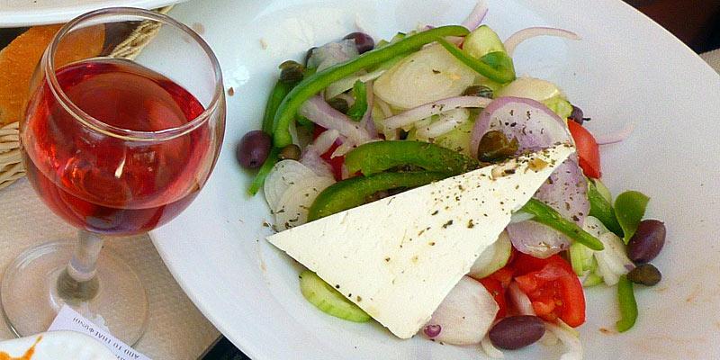 Kuchnia grecka. Sałatka po grecku
