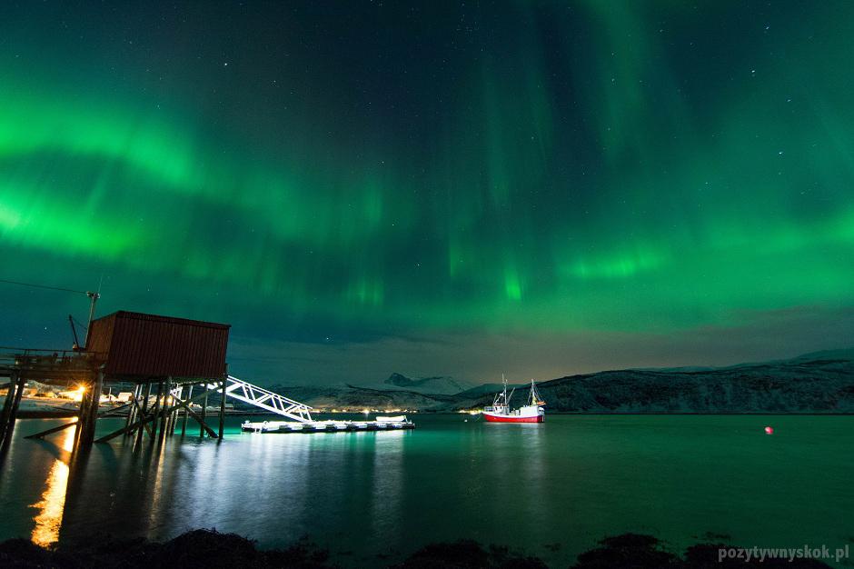 Zorza w Tromso