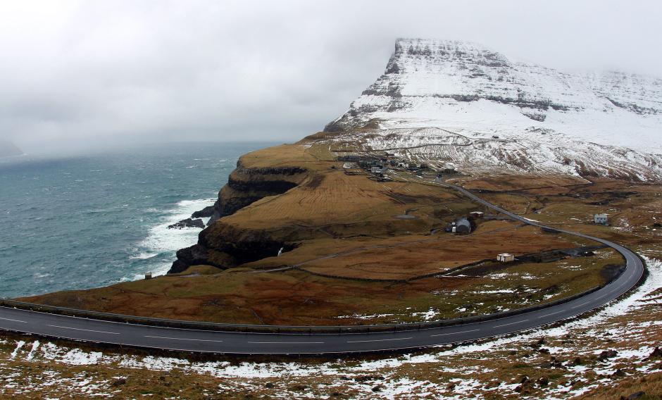 Osada Vagarf na Wyspach Owczych - zdjęcia z podróży
