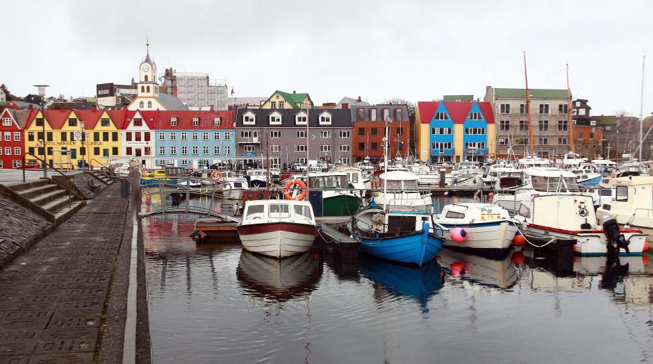 Port w stolicy Wysp Owczych - zdjęcia z wycieczki