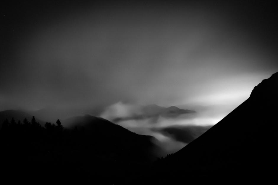 Noc w górach - Katarzyna Nizinkiewicz