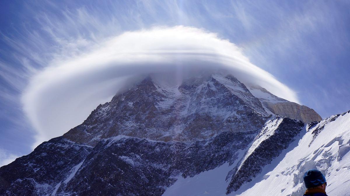 Szczyt Chan Tengri w Kirgistanie