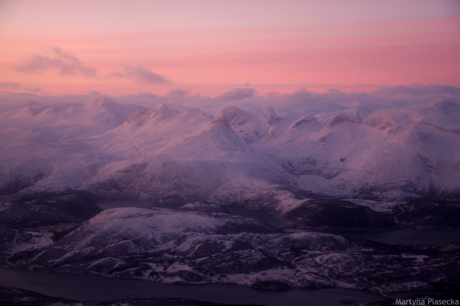 Północna Norwegia zimą - foto