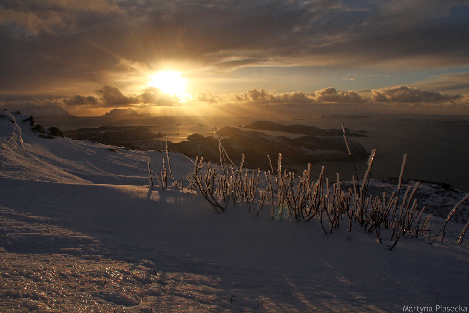 Zdjęcia z północnej Norwegii - foto Martyna Piasecka