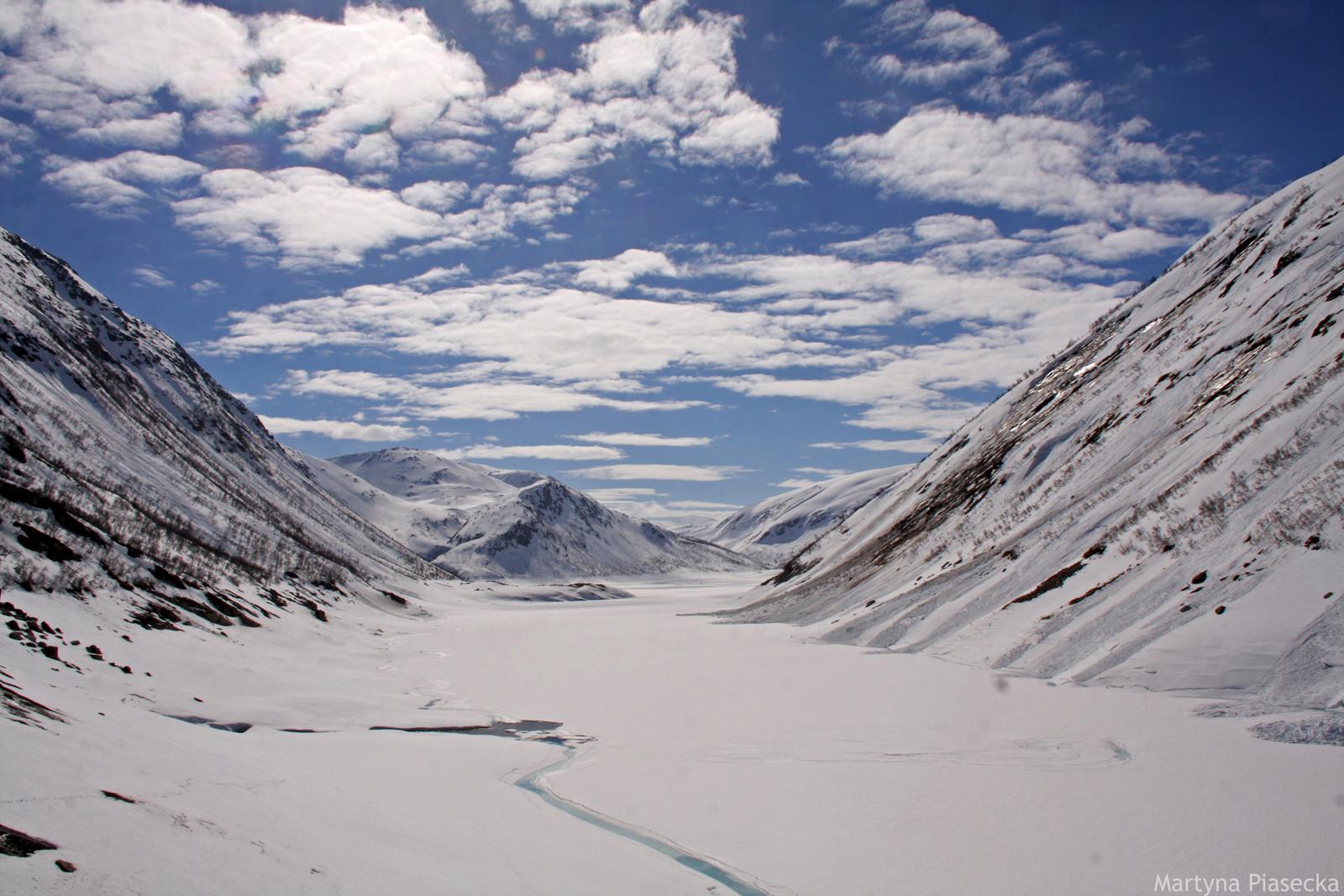 Zima w Norwegii - zdjęcia z północy kraju - foto Martyna Piasecka