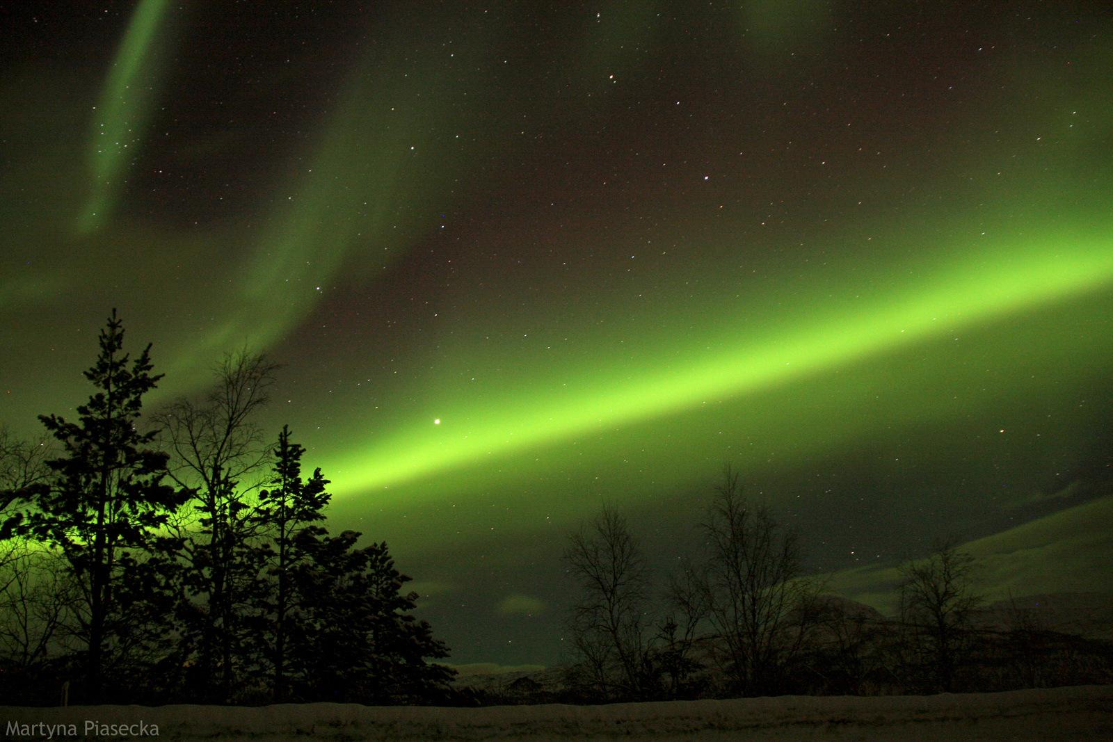 NORWEGIA, Beiarn, magia zorzy polarnej - zdjęcia z podróży na północ