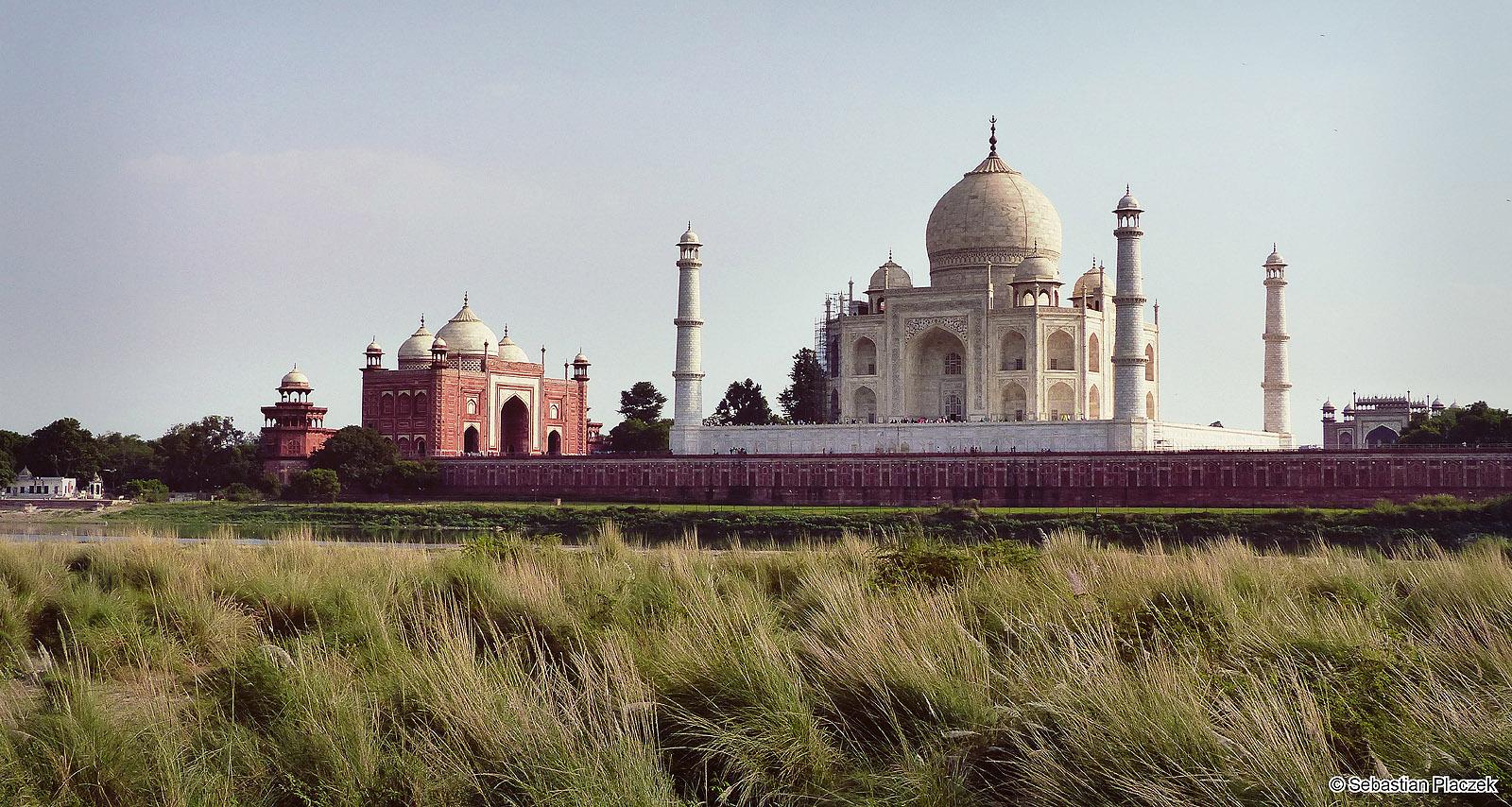 Indie, wycieczka do Taj Mahal, Jamuna
