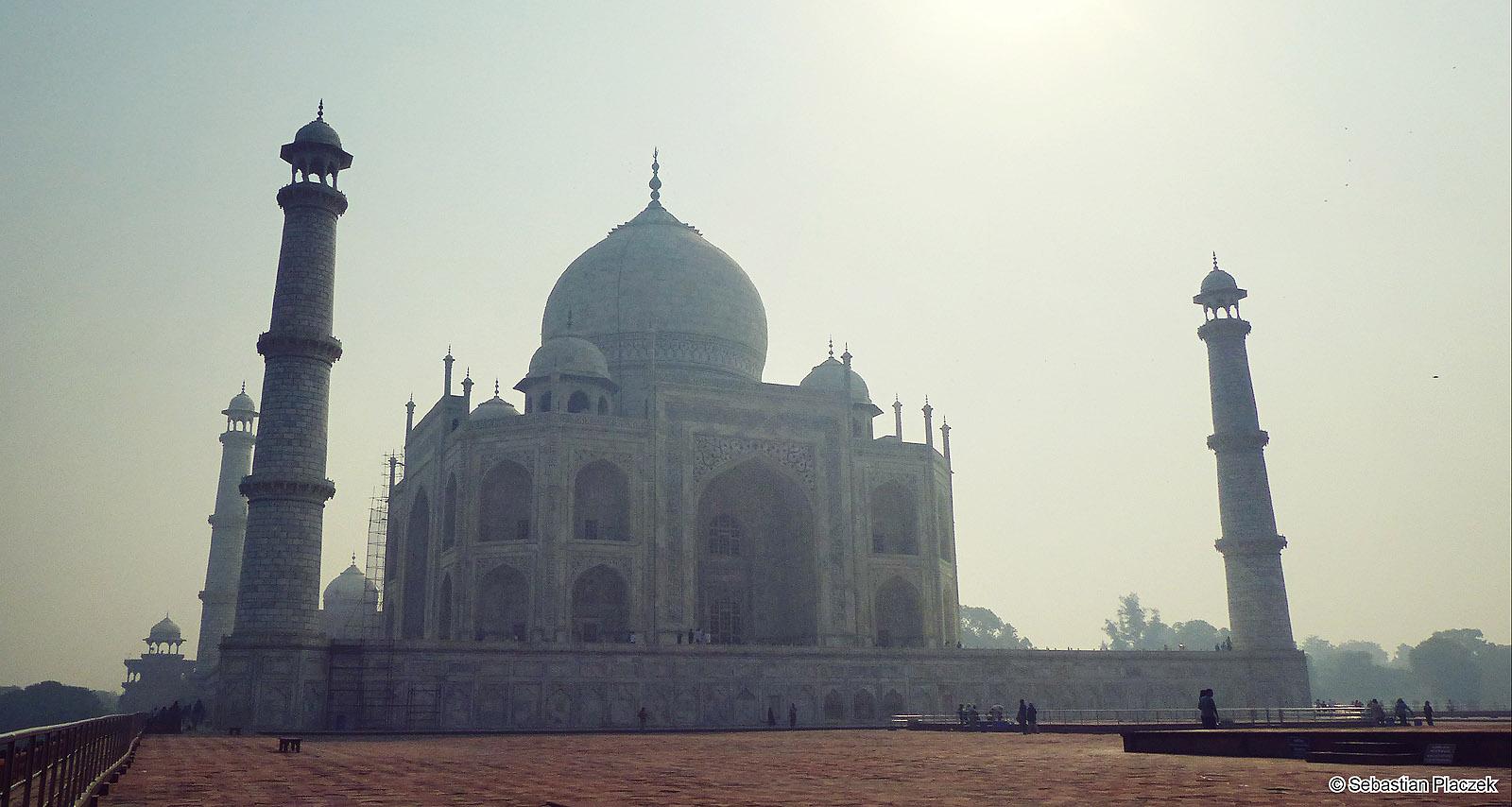 Zdjęcia z Indii - Taj Mahal. Foto - Sebastian Placzek