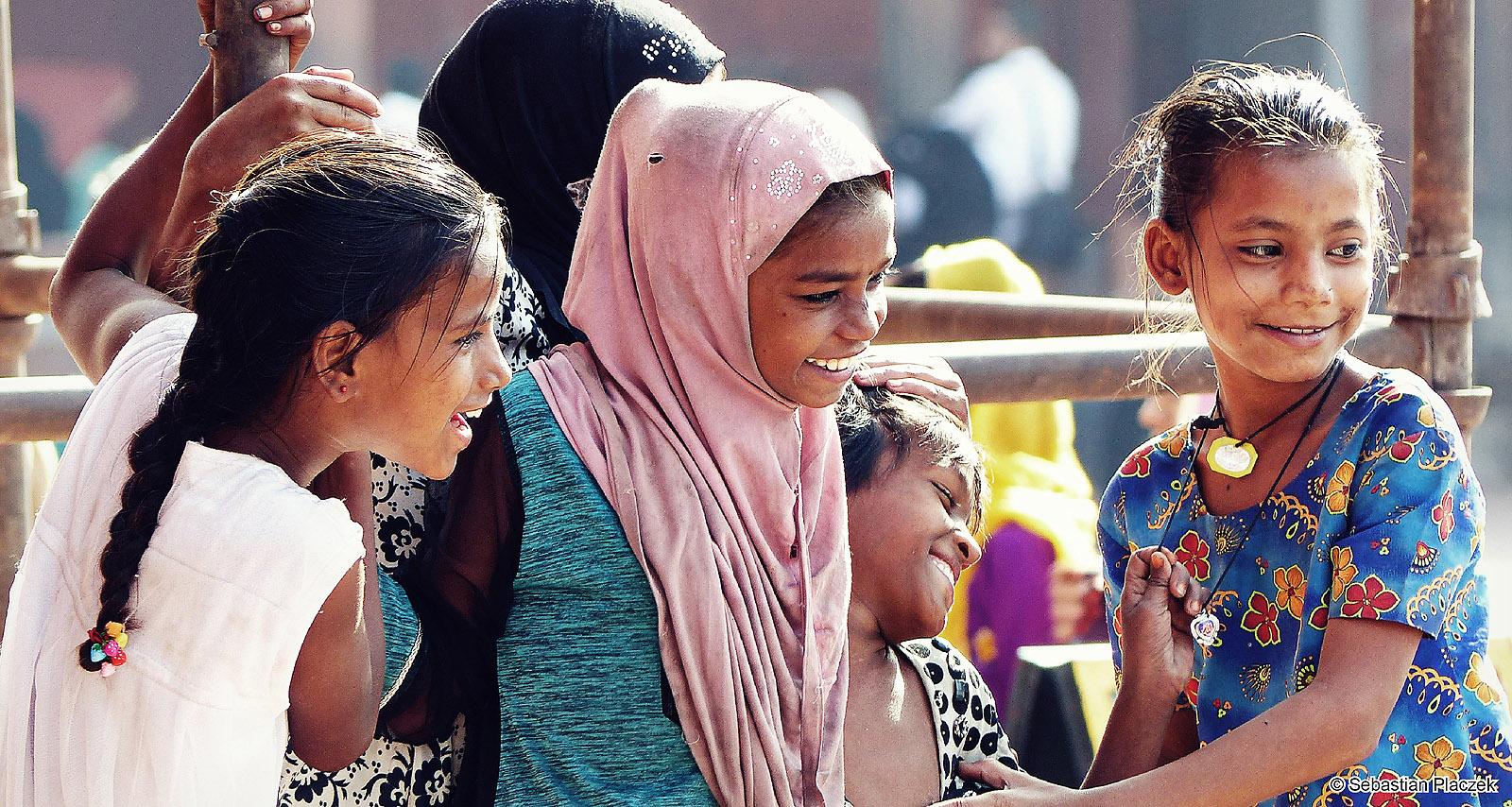 Indie, zycie codzienne w centrum Delhi. Zdjęcia - Sebastian Placzek