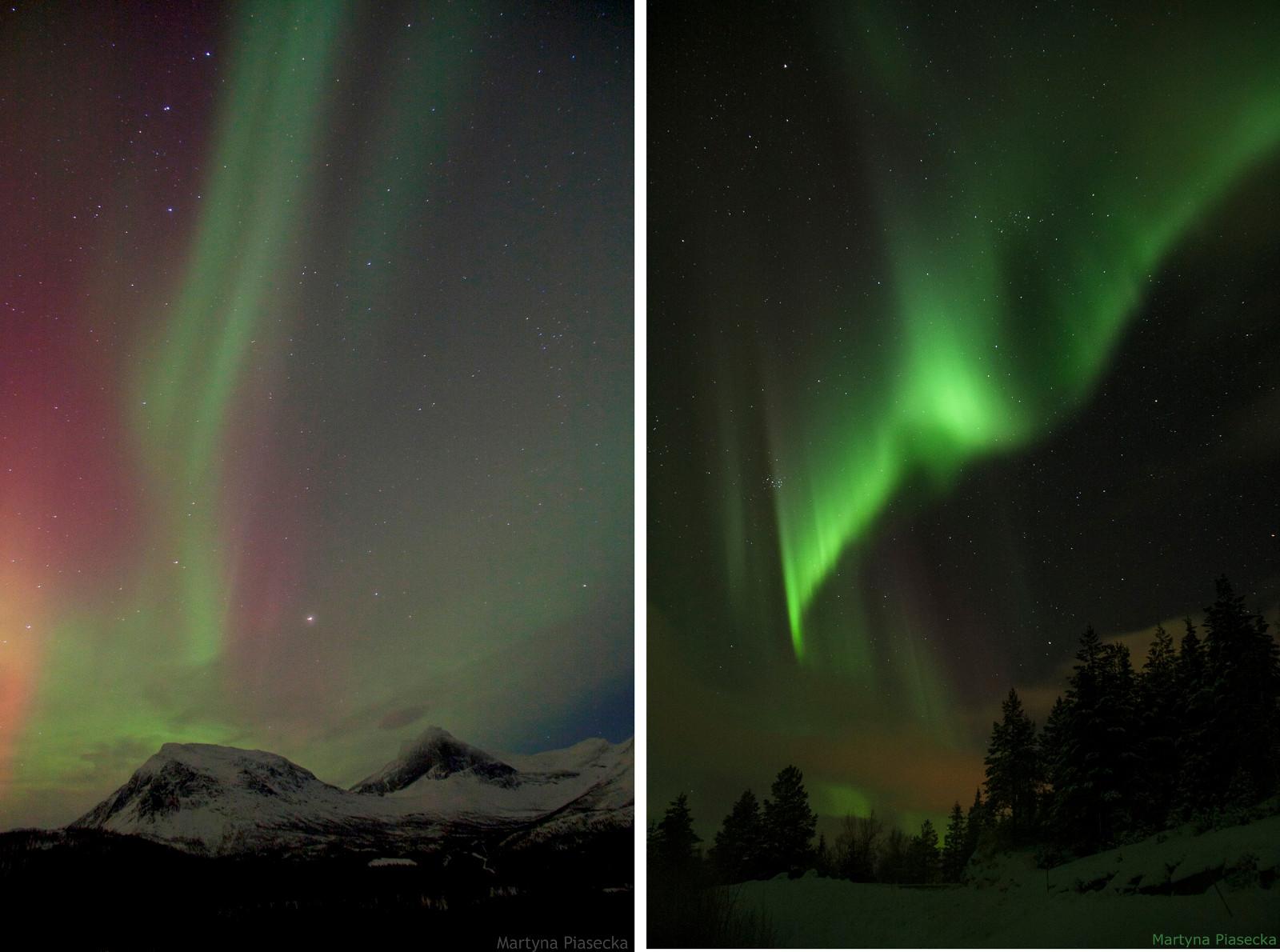 NORWEGIA, Kobbvatnet, zorza polarna - foto