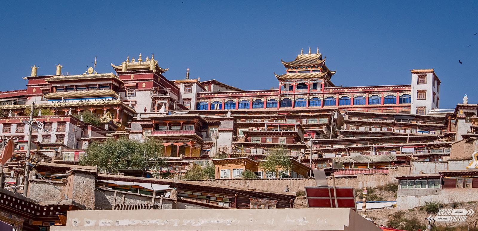 Ganzi, chińska część Tybetu - foto
